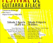 Agosto trae el 3° Festival de la Guitarra Flamenca Aflach en transmisión on line