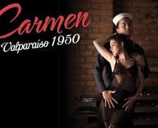 "Gabriel Aragú estrena ""Carmen, Valparaíso 1950"""