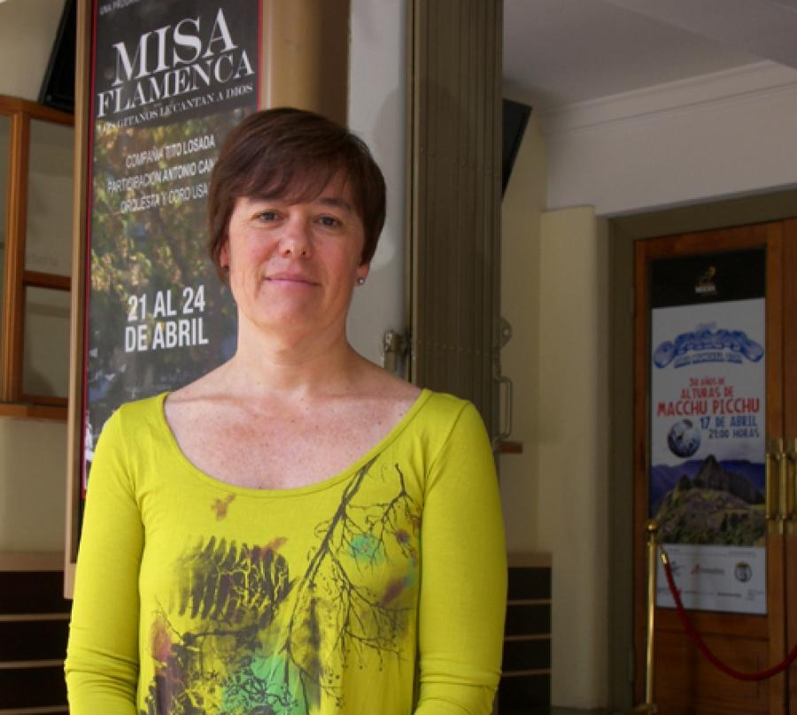 """Irene González: """"El flamenco no puede estar fuera de la programación del teatro"""""""