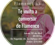 """Charla """"Conversemos de Flamenco"""" en FlamencoLab"""